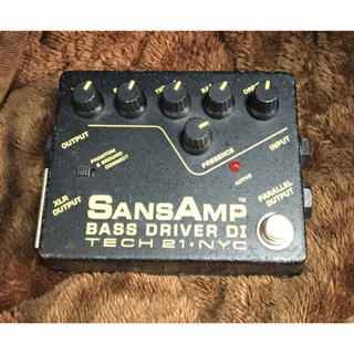 SansAmp BASS DRIVER DI TECH 21 サンズアンプ(ベースエフェクター)