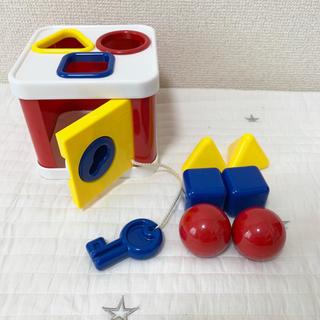 BorneLund - ボーネルンド ロックブロック 型はめ 知育玩具
