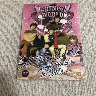 シャイニー(SHINee)のSHINee DVD韓国版 SHINee WORLD  Ⅱ  in  SEOUL(ミュージック)