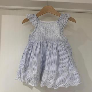 ベビーギャップ(babyGAP)のbaby GAP 夏ワンピース 12〜18m(ワンピース)