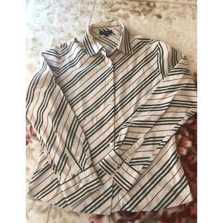 BURBERRY - バーバリー チェックシャツ ポロシャツ