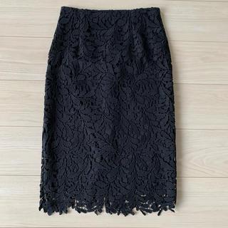 スタイルデリ(STYLE DELI)のSTYLE DELI  黒レースタイトスカート サイズS(ひざ丈スカート)