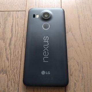 エルジーエレクトロニクス(LG Electronics)のNexus5x 16gb ジャンク(スマートフォン本体)