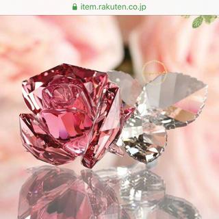 SWAROVSKI - スワロフスキー バラ ピンク