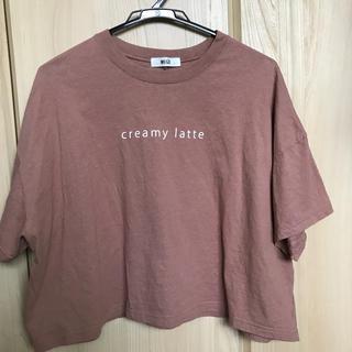 WEGO - WEGO くすみピンクTシャツ