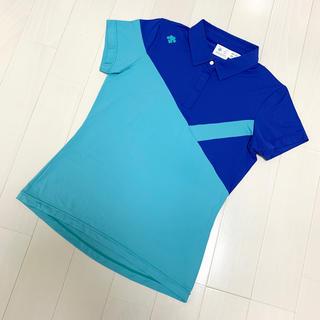 DESCENTE - DESCENTE GOLF デサントゴルフ レディース  ポロシャツ 新品未使用
