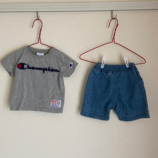 Champion - Champion Tシャツ&半ズボンセット 80サイズ