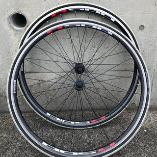 シマノ(SHIMANO)のホイール シマノ WH-R501 前後セット タイヤ チューブ付  (パーツ)