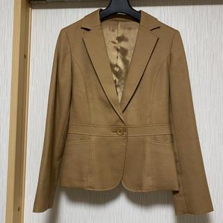 ノーリーズ(NOLLEY'S)のNOLLEY'S  素敵なジャケット ライトブラウン(テーラードジャケット)