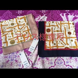 ジーユー(GU)のGU ジーユー スカーフ *新品未使用 値札付き*(バンダナ/スカーフ)