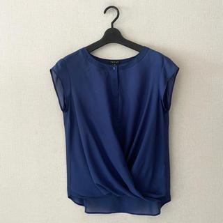 インディヴィ(INDIVI)のINDIVI♡プルオーバーシャツ(シャツ/ブラウス(半袖/袖なし))