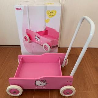 BRIO 手押し車 Hello Kitty (手押し車/カタカタ)