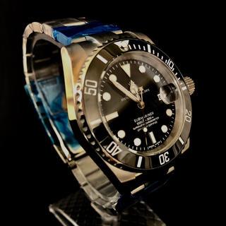 新品 高性能ダイバーズウォッチ グライドロック セラミックベゼル 送料無料(腕時計(アナログ))