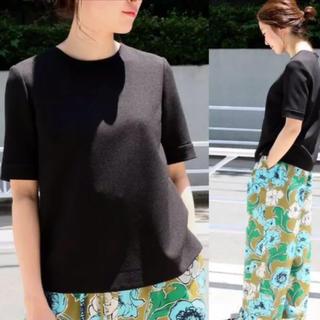 イエナ(IENA)の2018ss クレープノーカラーブラウス(Tシャツ(半袖/袖なし))