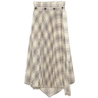 snidel - SNIDEL プリーツレイヤードスカート