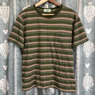 クロコダイル(Crocodile)の激安美品 クロコダイル ボーダーTシャツ(Tシャツ/カットソー(半袖/袖なし))