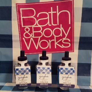 バスアンドボディーワークス(Bath & Body Works)のバスアンドボディワークス ウォールフラワーリフィル ギンガム3本セット(アロマオイル)