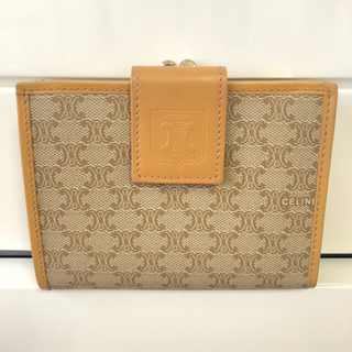 celine - セリーヌ ビンテージ がま口 折財布