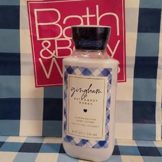 Bath & Body Works - バスアンドボディワークス ギンガム モイスチャーローション