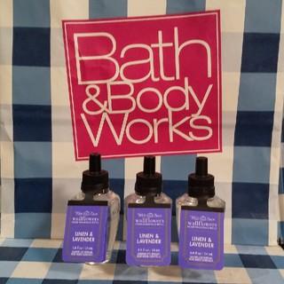 バスアンドボディーワークス(Bath & Body Works)のバスアンドボディワークス ウォールフラワーリフィル3本セット(アロマオイル)
