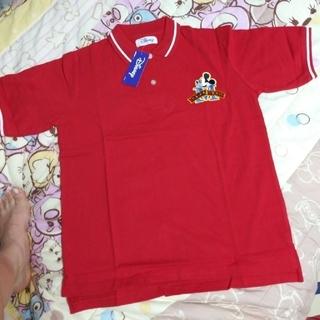 ディズニー(Disney)のミッキーマウス:半袖ポロシャツ(ポロシャツ)