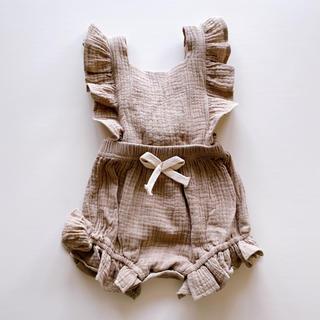 Caramel baby&child  - エプロンロンパース 70