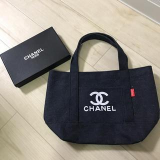 CHANEL - CHANEL ノベルティ  デニムバッグ