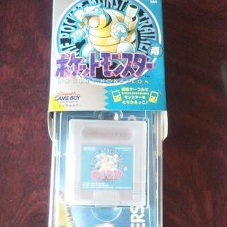 ゲームボーイ(ゲームボーイ)のGAME BOYポケットモンスター青と赤(家庭用ゲームソフト)