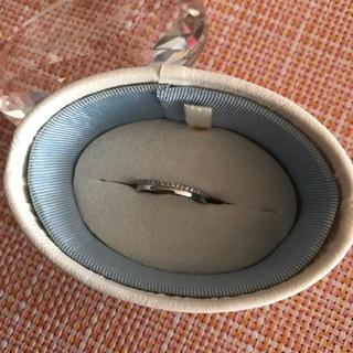 カナルヨンドシー(canal4℃)のcanal4℃ pt900 リング(リング(指輪))