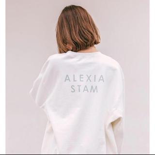 ALEXIA STAM - alexiastam バックロゴトレーナー