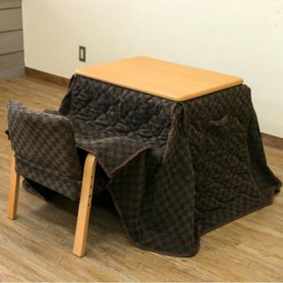 パーソナルコタツ、掛布団、椅子3点セット(その他)