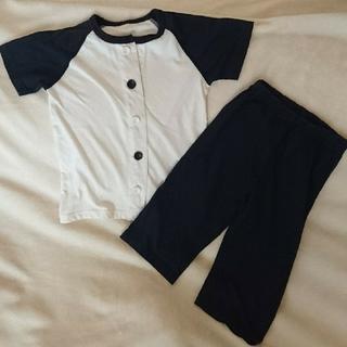 MUJI (無印良品) - 美品❇️キッズ半袖パジャマ 110【無印良品】