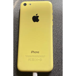 Softbank - Softbank iPhone5c 32GB イエロー