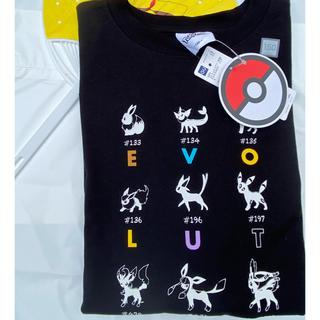GU - GU コラボ ポケモン イーブイ 150 Tシャツ