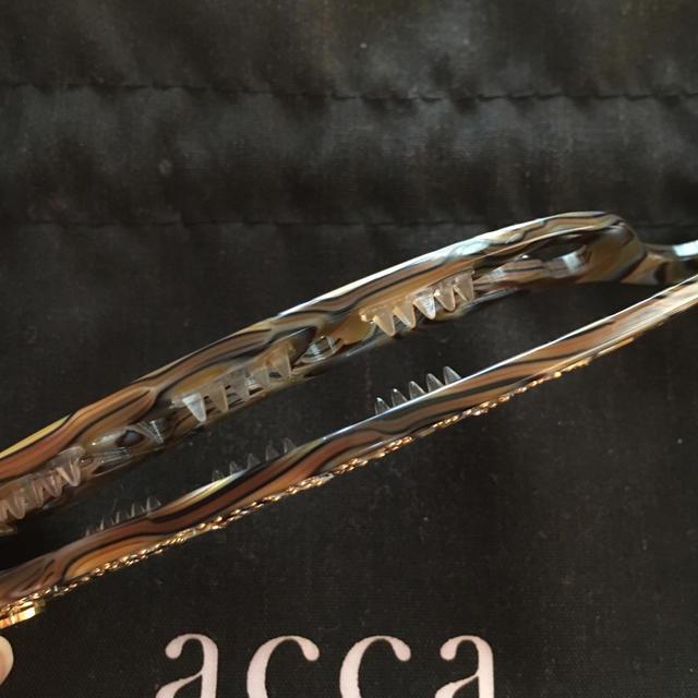 acca(アッカ)のacca バナナクリップ レディースのヘアアクセサリー(その他)の商品写真