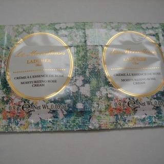 ラデュレ(LADUREE)のLADUREE ラデュレ ローズエッセンスクリーム 0.9g×2(フェイスクリーム)