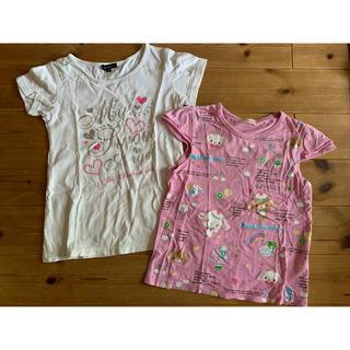 オリンカリ(OLLINKARI)の130cm Tシャツセット(Tシャツ/カットソー)