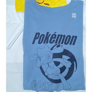 GU ポケモン コラボ Tシャツ リオル 150