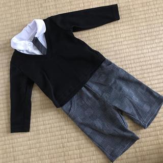 ニシマツヤ(西松屋)のフォーマル 長袖シャツ+ズボン(セレモニードレス/スーツ)