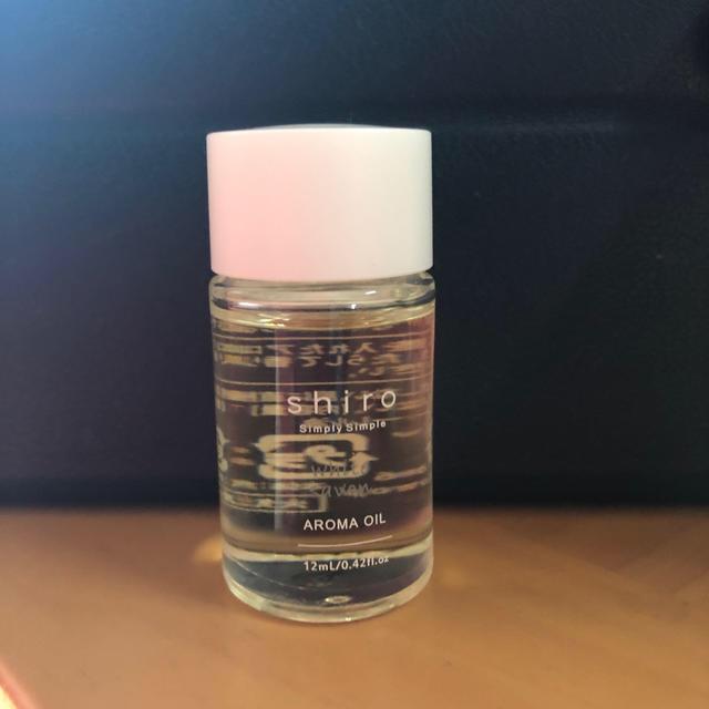 shiro(シロ)のアロマオイル shiro ホワイトサボン コスメ/美容のリラクゼーション(アロマオイル)の商品写真