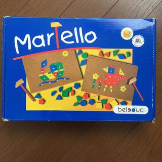BorneLund - ボーネルンド  Martello ハンマーモザイク  小さな大工さん