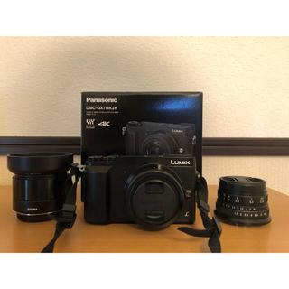 Panasonic - panasonic gx7mk2標準ズームレンズ+単焦点レンズ2本