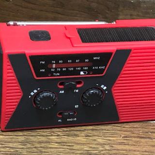 手回し充電・防災ラジオ懐中電灯(ラジオ)