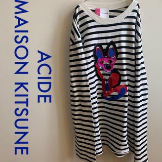 メゾンキツネ(MAISON KITSUNE')のMAISON KITSUNE MARIN ACIDE FOX カットソー(Tシャツ/カットソー(七分/長袖))