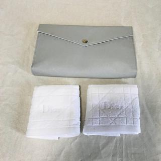 ディオール(Dior)のディオール Dior フェイスタオル ポーチ(タオル/バス用品)