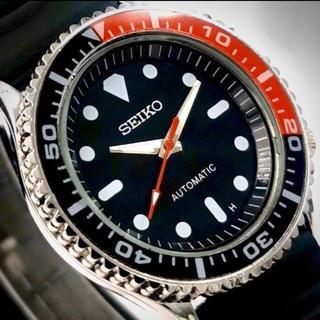 海外モデルSEIKO BLACK &RED 新古品(腕時計(アナログ))
