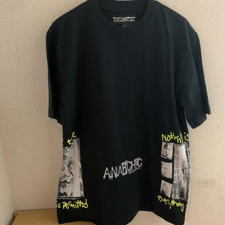 ANARCHIC ADJUSTMENT - 即完品 PALACE × ANARCHIC NOTHING IS TRUE 黒