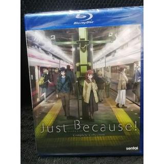 新品 PS4視聴可能 Just Because! ジャスト ビコーズ 北米版BD(アニメ)
