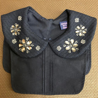 アナスイミニ(ANNA SUI mini)のANNA SUI mini アナスイ ミニ つけ襟 ビジュー 刺繍(その他)