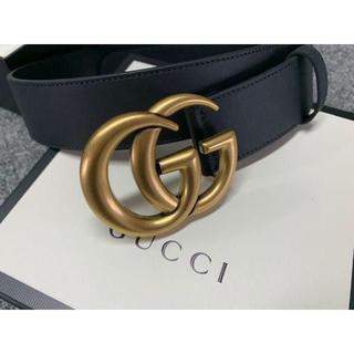 グッチ(Gucci)のGucci★GGバックル レザーベルト4cm幅(ベルト)